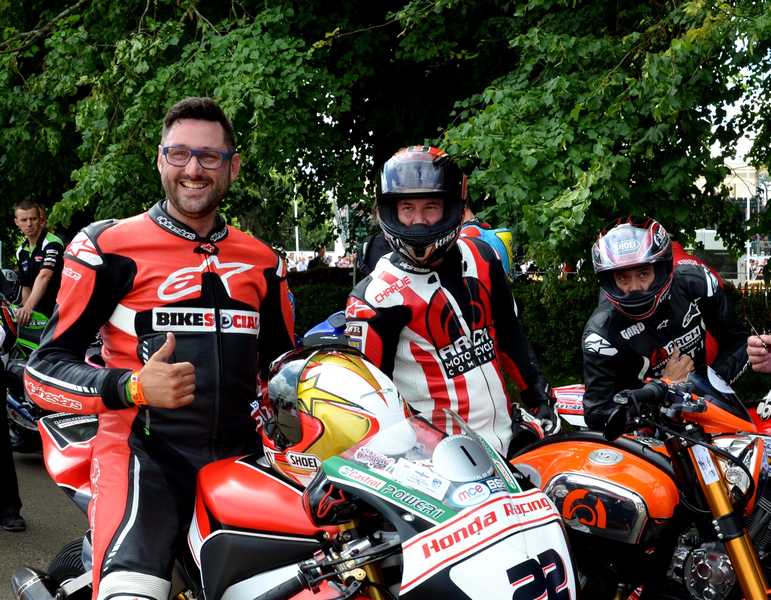 Kearnu Reeves, Gard Hollinger, Arch Motorcycles, Goodwood Festival of Speed